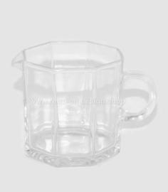 Vintage Glas Milchkännchen von Arcoroc France, Octime-Clear