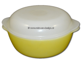 Arcopal France opal. Yellow opal glass baking dish