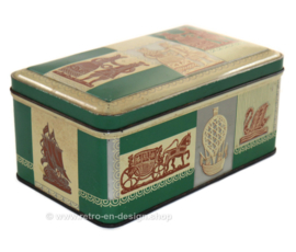 Vintage cookie tin for speculaas by De Spar
