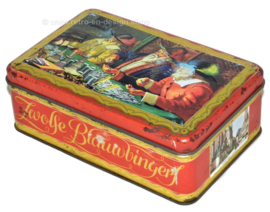 Vintage cookie tin for Zwolse Blauwvingers