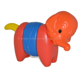 ZOO-IT-yourself vintage Tupperware Toys éléphant en plastique