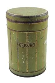 Boite étain vintage pour Chicorei - Chicoree
