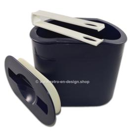 Tupperware Preludio dubbelwandige ijsemmer met ijstang en tuimeldeksel