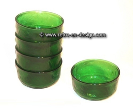 Arcoroc Sierra glassware, bowl in green