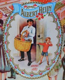 Boîtes étain rétrospective de AH Albert Heijn. 125 ans d'Albert Heijn, anno 1887