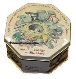 Octagon Tin by Webb and Bower