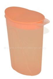 Vintage Orange Tupperware Impressions Saftkrug / Wasserkrug