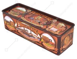 Boîte rectangulaire vintage pour pain d'épices de Peijnenburg, édition anniversaire