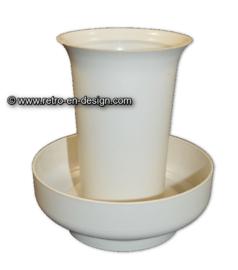 Vintage Tupperware / Tupperkraft Florette Vase set