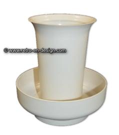 Vintage Tupperware / Tupperkraft Florette Vaas / bloemschikker