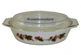 Casserole with cover by JAJ, Made in England