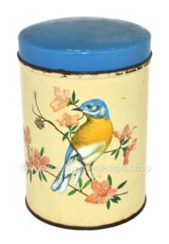 "Vintage Champ Clark cigar tin with blue lid ""Robin"""