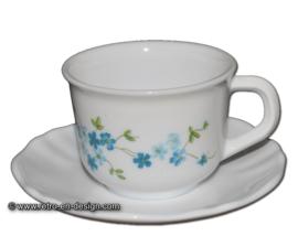 Arcopal Veronica, taza con platillo
