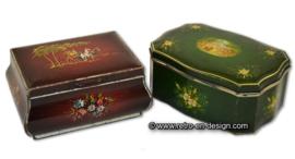 Vintage Pickwick theeblikken van Douwe Egberts