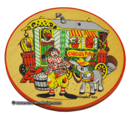Circus Pipo kinderpuzzel, Simplex Toys