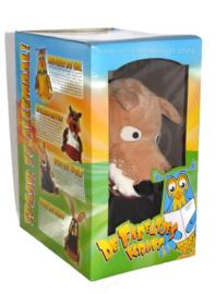 Fabeltjeskrant Handpop Bor de Wolf, in originele doos