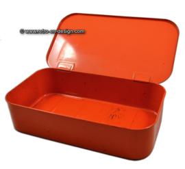 Vintage Brabantia cleaning box in orange