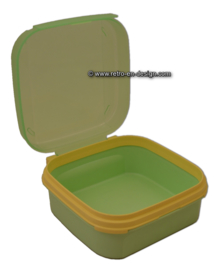 Tupperware Tuppertop light green lunchbox 1,2 liter