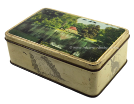 Tin box with image of Farm at Park Sonsbeek, Arnhem