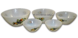 Arcopal Fruits de France set of bowls