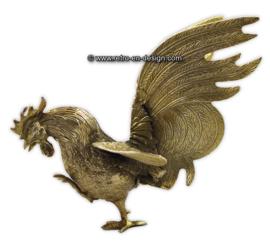 Vintage metal fighting game rooster
