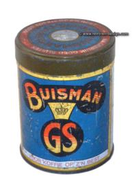 """Vintage tin """"Buisman koffiestroop"""""""