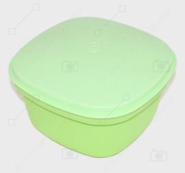 Servidor múltiple Tupperware vintage verde claro, 1973