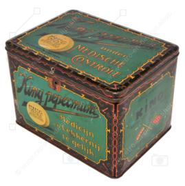 Vintage Blechdose für KING extra starke Pfefferminze, 1920