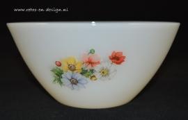 Bowl Arcopal France, Anemones