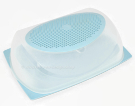 Rectangular Tupperware CheeSmart cheese box in light blue