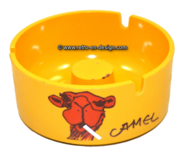 Vintage plastic Camel ashtray from the '70s