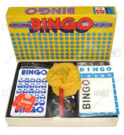 Jumbo (Hausemann y Hötte) Bingo 48 cartones, 1972
