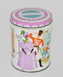 Vintage hojalata Mackintosh Quality Street, fabricada en Inglaterra