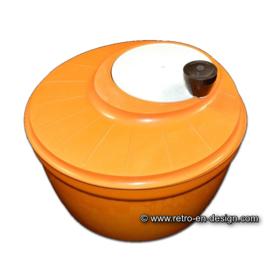 Vintage oranje slacentrifuge van Moulinex