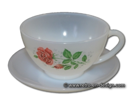 Cup and saucer Arcopal