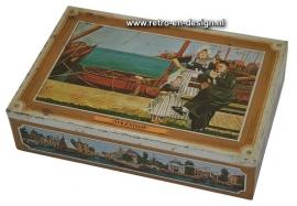 Vintage blik 'Volendam' Lucas. Enkhuizer Banket