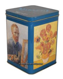 Vintage blik Vincent van Gogh 1890 - 1990