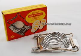 Vintage '60s Westmark 'Round-Y-Oval' egg-slicer