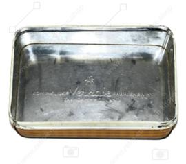 """Boîte vintage rectangulaire avec couvercle séparé pour """"Verkade"""" Langetjes"""