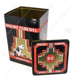 Grande boîte de rangement rectangulaire haute pour café par Douwe Egberts