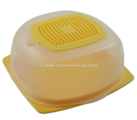 Tupperware CheeSmart Mini, caja de queso, amarillo