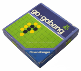 Go+Gobang, vintage Ravensburger board game from 1974