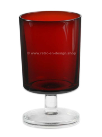 Wine glass Cavalier Ruby red by Cristal D'Arques-Durand, Luminarc