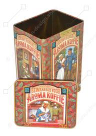 Vintage Douwe Egberts bewaarbus voor Aroma Koffie