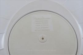 Witte vintage slacentrifuge of slaslinger van Moulinex