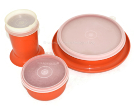Conjunto vintage de Tupperware Little Diner