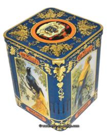Vintage biscuit tin for van Melle's biscuits