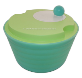 Green Tupperware Impressions 'Spin N Save', Salad Spinner