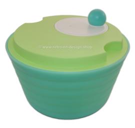 Tupperware Impressions verte 'Spin N Save', Essoreuse à salade