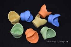 Vintage Tupperware Impressions egg cups